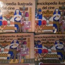 Cine: L9504 TOMOS DE LA ENCICLOPEDIA ILUSTRADA DE CINE EN PERFECTO ESTADO DE EDITORIAL LABOR S.A.. Lote 55370861