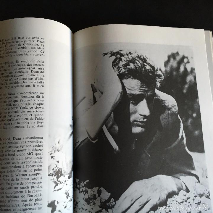 Cine: LIBRO JAMES DEAN. JOHN HOWLETT. ALBIN MICHEL ROCK & FOLK. 1975 TEXTO FRANCES - Foto 3 - 56334019