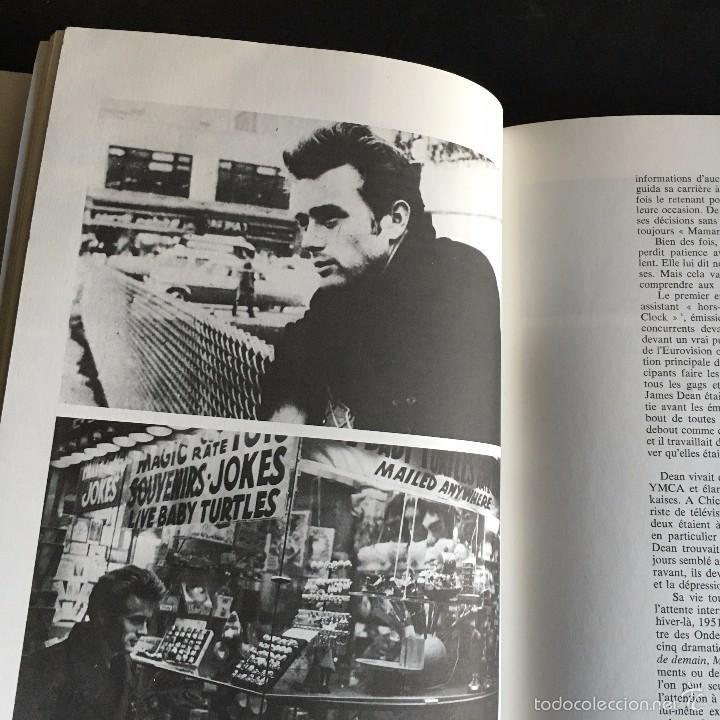 Cine: LIBRO JAMES DEAN. JOHN HOWLETT. ALBIN MICHEL ROCK & FOLK. 1975 TEXTO FRANCES - Foto 4 - 56334019