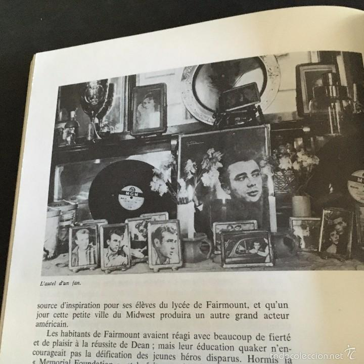 Cine: LIBRO JAMES DEAN. JOHN HOWLETT. ALBIN MICHEL ROCK & FOLK. 1975 TEXTO FRANCES - Foto 7 - 56334019