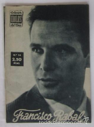 Cine: 4 COLECCION IDOLOS DEL CINE: FRANCISCO RAVAL, TYRONE POWER, YUL BRYNNER, GLEEN FORD - Foto 2 - 56983881