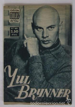 Cine: 4 COLECCION IDOLOS DEL CINE: FRANCISCO RAVAL, TYRONE POWER, YUL BRYNNER, GLEEN FORD - Foto 4 - 56983881