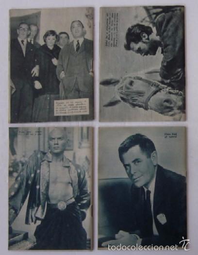Cine: 4 COLECCION IDOLOS DEL CINE: FRANCISCO RAVAL, TYRONE POWER, YUL BRYNNER, GLEEN FORD - Foto 6 - 56983881