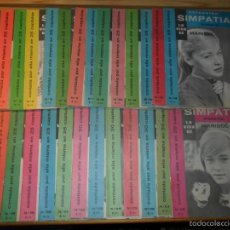 Cinema: COLECCIÓN SIMPATÍA:LA VIDA DE MARISOL COMPLETA (1962) Nº 0 + 28 FASCÍCULOS + CUBIERTAS - PEPA FLORES. Lote 57134660