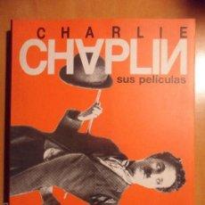 Cine: CHARLIE CHAPLIN. SUS PELICULAS. JAVIER LUENGOS. CENTRO CULTURAL CAMPOAMOR. FUNDACION DE CULTURA, AYU. Lote 57917168