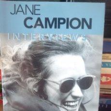 Cine: JANE CAMPION INTERVIEWS - DIRECTORA PELICULA EL PIANO Y MAS ACTUALES - LIBRO EN INGLES. Lote 58087557
