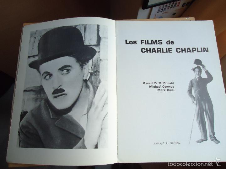 Cine: LIBRO LOS FILMS DE CHARLIE CHAPLIN. TODAS SUS PELÍCULAS CON SUS RESEÑAS Y CIENTOS DE FOTOS - Foto 2 - 58162248