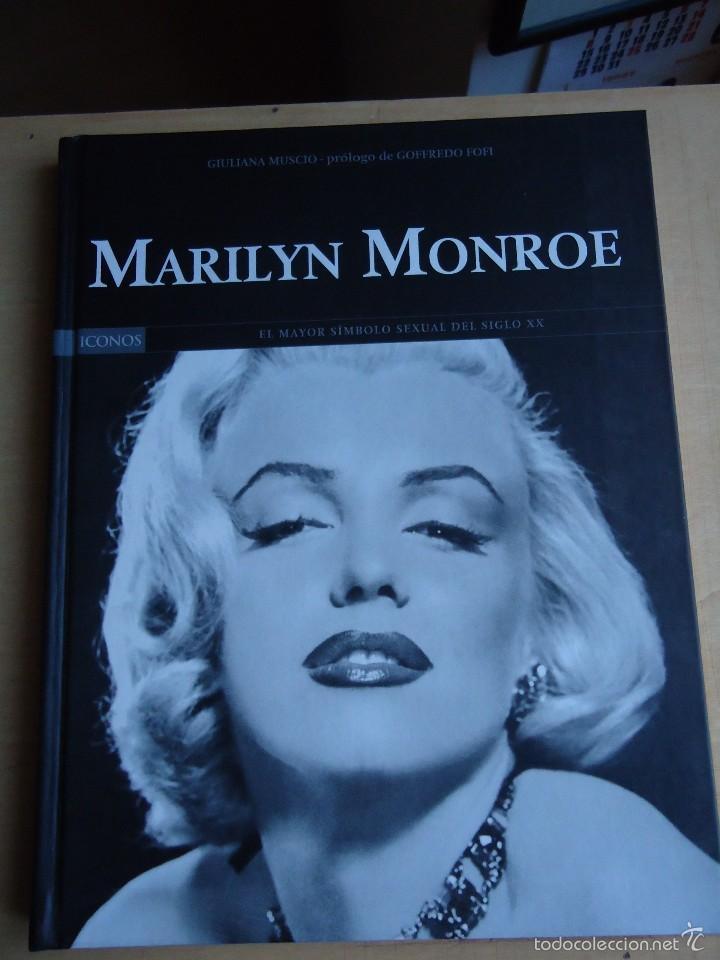 LIBRO MARILYN MONROE. BIOGRAFÍA, FILMOGRAFÍA,CRONOLOGÍA COMPLETA. Y NUMEROSAS FOTOS. (Cine - Biografías)