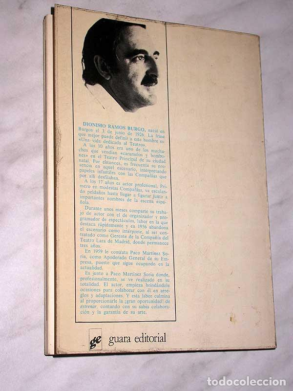 Cine: PACO MARTÍNEZ SORIA. SU VIDA Y SUS ÉXITOS. DIONISIO RAMOS. GUARA, 1978. FOTOS, CINE, TEATRO. +++++++ - Foto 6 - 62169736