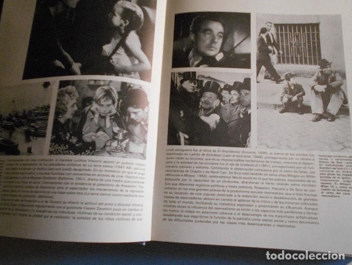 Cine: 100 AÑOS DE CINE. 2 TOMOS EN UN ESTUCHE. TAPA DURA EN TELA. GRAN FORMATO. DIFUSORA INTERNACIONAL. 19 - Foto 4 - 66812070