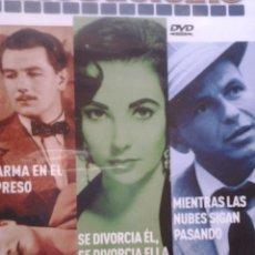 Cine: MIENTRAS LAS NUBES SIGAN PASANDO/ ALARMA EN EXPRESO/ SE DIVORCIA EL, SE DIVORCIA ELLA MITOS DEL CINE. Lote 70651997