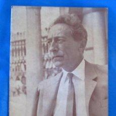 Cine: JEAN COCTEAU. CARLOS FERNÁNDEZ CUENCA. FILMOTECA NACIONAL DE ESPAÑA, 1964.. Lote 72118355