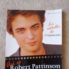 Cine: 2008 BIOGRAFÍA ROBERT PATTINSON CREPÚSCULO LIBRO PATISON PATTISON. Lote 75533087