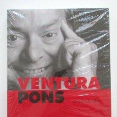 Cine: VENTURA PONS, LA MIRADA LIBRE, LIBRO DE GRAN FORMATO NUEVO Y PRECINTADO, SGAE, CINE EXPERIMENTAL . Lote 80045589