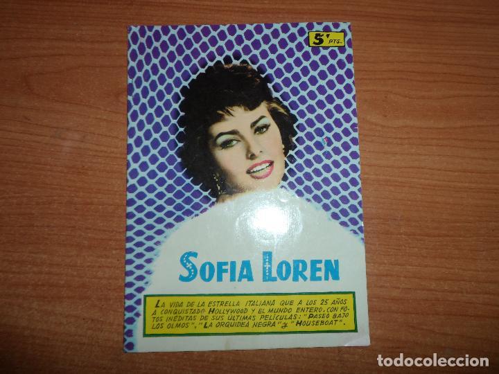 BIOGRAFIA DE SOFIA LOREN - EDITORIAL FERMA (Cine - Biografías)