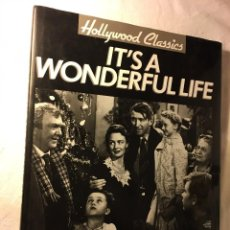 Cine: RM1 IT'S A WONDERFUL LIFE, POR MARIE CAHILL - MAGNA BOOKS - HOLLYWOOD CLASSICS - HONG KONG - 1992. Lote 80521441