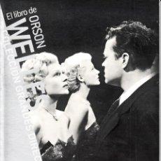 Cine: GRANDES DIRECTORES: EL LIBRO DE ORSON WELLES DE PAOLO MEREGHETTI. EL PAÍS, 2008. Lote 82290176