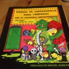 Cine: MANUAL DE SUPERVIVENCIA PARA CINEFAGOS - SITGES. Lote 83010235