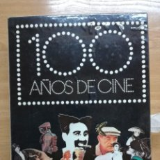 Cine: 100 AÑOS DE CINE. 2 TOMOS EN UN ESTUCHE. TAPA DURA EN TELA. GRAN FORMATO. DIFUSORA INTERNACIONAL. Lote 204745312
