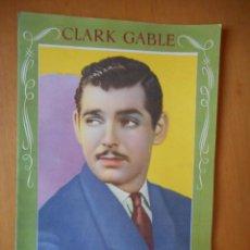 Cine: CLARK GABLE. LA HISTORIA DE MI VIDA. QUIEN SOY YO. EDITORIAL BRUGUERA. AÑOS 40. TIENE 16 PÁGINAS. Lote 83643744