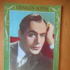 Cine: CHARLES BOYER. LA HISTORIA DE MI VIDA. QUIEN SOY YO. EDITORIAL BRUGUERA. AÑOS 40. TIENE 16 PÁGINAS. Lote 83643880