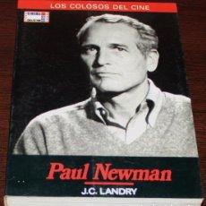 Cine: PAUL NEWMAN - J.C. LANDRY - LOS COLOSOS DEL CINE Nº 1 - CINEMA CLUB COLLECTION. Lote 83812652