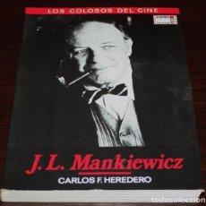 Cine: J.L. MANKIEWICZ - CARLOS F. HEREDERO - LOS COLOSOS DEL CINE Nº 5 - CINEMA CLUB COLLECTION. Lote 83812824