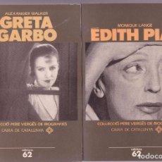 Cinéma: EDITH PIAF Y GRETA GARBO . Lote 86422412