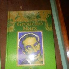 Cine: COLECCION PERSONAJES DEL SIGLO XX GROUCHO MARX EDICIONES RUEDA MADRID 2000. Lote 88781680