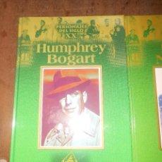 Cine: COLECCION PERSONAJES DEL SIGLO XX HUMPHREY BOGART EDICIONES RUEDA MADRID 2000. Lote 88781892