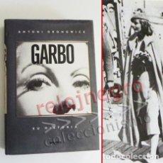 Cine: GARBO SU HISTORIA - LIBRO BIOGRAFÍA DE GRETA G- ACTRIZ EEUU - ANTONI GRONOWICZ - MUCHAS FOTOS - CINE. Lote 89329512