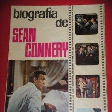 Cinema: BIOGRAFÍA DE SEAN CONNERY, AGENTE 007, ED A. DE A., AÑO 1965, JAMES BOND. Lote 90106288