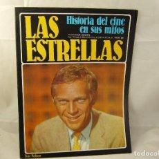 Cinema: HISTORIA DEL CINE EN SUS MITOS LAS ESTRELLAS Nº 99 STEVE MCQUEEN. Lote 92037865
