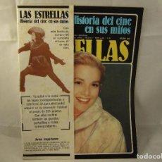 Cinema: HISTORIA DEL CINE EN SUS MITOS LAS ESTRELLAS Nº 60 GRACE KELLY. Lote 92040905