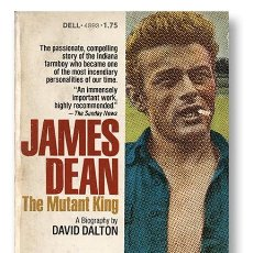 Cinéma: JAMES DEAN. THE MUTANT KING. MÁS DE 100 FOTOS EXCLUSIVAS. DELL, N.Y. 1975. PEDIDO MÍNIMO 6€. Lote 94078585