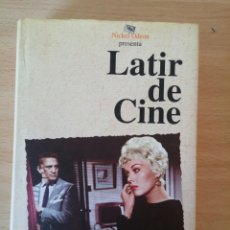 Cine: LATIR DE CINE. FIRMADO POR JOSE LUIS GARCI. Lote 95843724