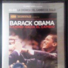 Cine: DVD-CINE-PELICULA - BARACK OBAMA- CAMINO HACIA EL CAMBIO - A ESTRENAR-. Lote 96469635