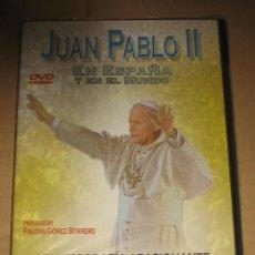 Cine: (SIN ABRIR) JUAN PABLO II: EN ESPAÑA Y EN EL MUNDO (EDICIÓN REVISTA ¡HOLA!) __ DVD. Lote 98408699