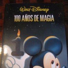 Cine: WALT DISNEY. 100 AÑOS DE MAGIA. EL PAIS-AGUILAR. AÑO 2001. TAPA DURA. ILUSTRADO A TODO COLOR. 203 PA. Lote 99387190