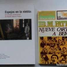 Cine: MARTÍN PATINO: ESPEJOS EN LA NIEBLA +DVD Y NUEVE CARTAS A BERTA. BASILIO MARTÍN PATINO. Lote 194753795