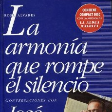Cine: LA ARMONÍA QUE ROMPE EL SILENCIO. CONVERSACIONES CON JOSÉ NIETO - CINE - MÚSICA -. Lote 105499423