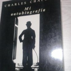 Cine: CHARLES CHAPLIN - MI AUTOBIOGRAFIA. CHARLOT . DEBATE . LIBRO CINE. Lote 106603603