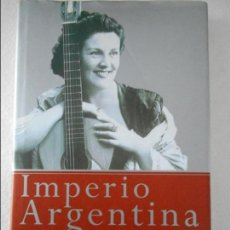 Cine: IMPERIO ARGENTINA. MALENA CLARA. TEMAS DE HOY. MEMORIAS. AÑO 2001. TAPA DURA CON SOBRECUBIERTA. CON. Lote 109142807