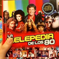 Cinema: LA TELEPEDIA DE LOS 80- TVE- TELEVISION- AÑOS 80 -YO FUI A EGB-COLECCIONISMO- CROMOS- CINE-NOSTALGIA. Lote 173155354