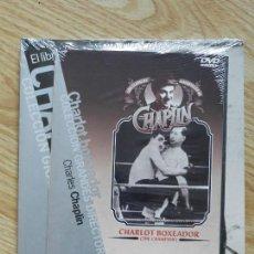 Cine: LIBRO DVD DE CHARLES CHAPLIN COLECCION GRANDES DIRECTORES CHARLOT BOXEADOR CAHIERS DE CINEMA EL PAIS. Lote 109456495