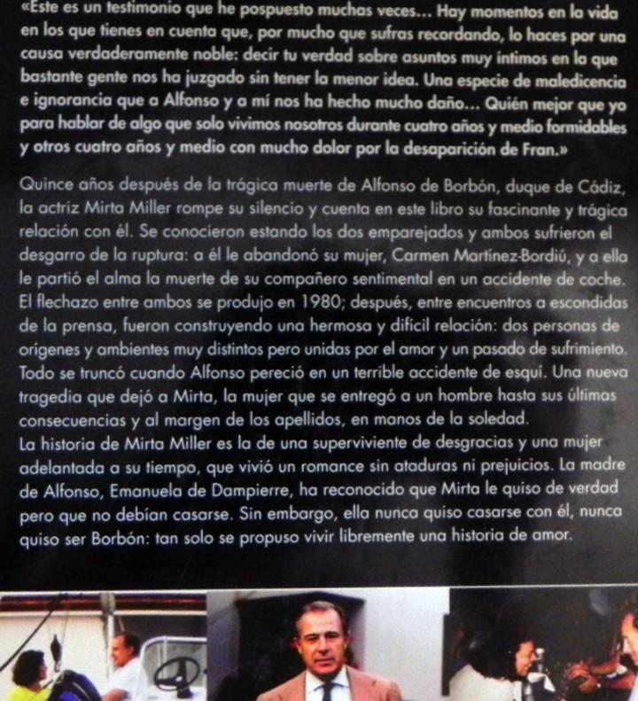 Cine: MIRTA MILLER LA MUJER QUE NO QUISO SER BORBÓN - LIBRO BIOGRAFÍA ACTRIZ - RELACIÓN CON DUQUE DE CÁDIZ - Foto 2 - 113359203