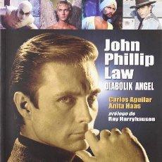 Cine: JOHN PHILLIP LAW DIABOLIK ANGEL. AGUILAR, CARLOS. HAAS, ANITA. BILBAO. QUATERMASS. 2008. 27 CM. PAGS. Lote 233051631