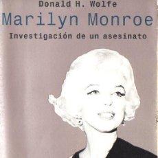 Cine: WOLFE : MARYLIN MONROE INVESTIGACIÓN DE UN ASESINATO (EMECÉ, 1999). Lote 115107719