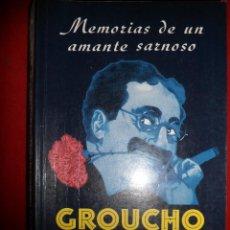 Cine: MEMORIAS DE UN AMANTE SARNOSO. GROUCHO MARX. Lote 117012663
