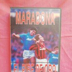 Cine: VHS MARADONA EL PIBE DE ORO. Lote 120899892